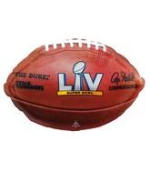 """31"""" Super Bowl 55 SuperShape Foil Balloon"""