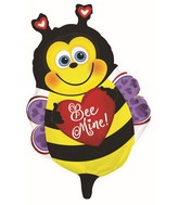 "22"" Happy Bee Mine Foil Balloon"