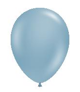 "24"" Blue Slate Latex Balloons 5 Count"