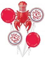 Bouquet Seafood Fest Foil Balloon
