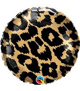 """18"""" Leopard Spots Pattern Foil Balloon"""