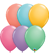 "11"" Candy Assorted Latex Balloons (100 Per Bag)"