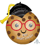 """17"""" One Smart Cookie Foil Balloon"""