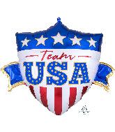 "26"" Team USA SuperShape Foil Balloon"