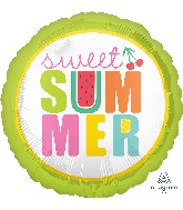 """18"""" Tutti Frutti Sweet Summer Foil Balloon"""