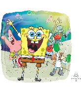 "18"" SpongeBob Squarepants Foil Balloon"