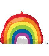 """18"""" Rainbow Foil Balloon"""