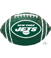 "17"" New York Jets Team Colors Standard XL Foil Balloon"