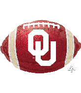 "17"" University of Oklahoma Foil Balloon"