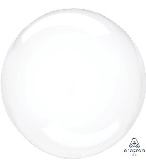 "11"" Crystal Clearz™ Petite Clear Crystal Clearz™ Balloon"