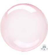"11"" Crystal Clearz™ Petite Dark Pink Crystal Clearz™ Balloon"