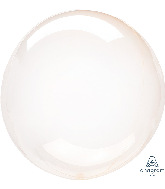 "11"" Crystal Clearz™ Petite Orange Crystal Clearz™ Balloon"