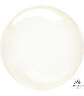 "11"" Crystal Clearz™ Petite Yellow Crystal Clearz™ Balloon"