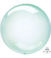 "11"" Crystal Clearz™ Petite Green Crystal Clearz™ Balloon"
