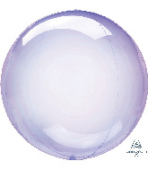 "11"" Crystal Clearz™ Petite Purple Crystal Clearz™ Balloon"