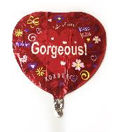 """18"""" Gorgeous Fun Icon Foil Balloon"""