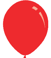 "36"" Standard Red Decomex Latex Balloons (5 Per Bag)"