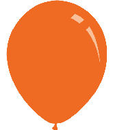 "36"" Standard Orange Decomex Latex Balloons (5 Per Bag)"