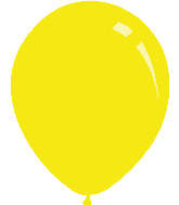 "36"" Standard Yellow Decomex Latex Balloons (5 Per Bag)"