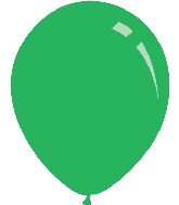 "36"" Standard Green Decomex Latex Balloons (5 Per Bag)"