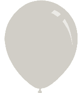 "5"" Pastel Grey Decomex Latex Balloons (100 Per Bag)"