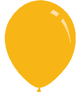"9"" Pastel Gold Yellow Decomex Latex Balloons (100 Per Bag)"