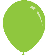 "9"" Pastel Lime Green Decomex Latex Balloons (100 Per Bag)"