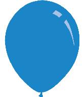 """9"""" Deco Royal Blue Decomex Latex Balloons (100 Per Bag)"""