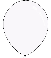 "36"" Crystal Clear Decomex Latex Balloons (5 Per Bag)"