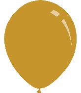 """9"""" Metallic Gold Decomex Latex Balloons (100 Per Bag)"""
