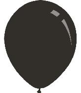 """12"""" Metallic Black Decomex Latex Balloons (100 Per Bag)"""