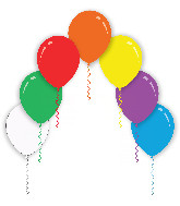"26"" Assorted Colors Decomex Latex Balloons (10 Per Bag)"