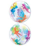 "22"" Magical Fairies & Sparkles Bubble Balloon"