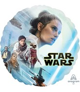"18"" Star Wars Episode Rise of Skywalker Foil Balloon"