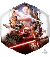 "23"" Jumbo Star Wars Episode Rise of Skywalker Foil Balloon"