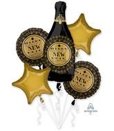 Bouquet Roaring Twenties New Years Foil Balloon