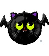 "20"" Batcat Foil Balloon"