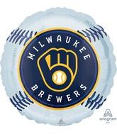 "18"" Milwaukee Brewers Foil Balloon"
