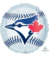 """18"""" Toronto Bluejays Foil Balloon"""