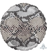 "18"" Snake Skin Print Animalz Foil Balloon"