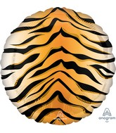 "18"" Tiger Print Animalz Foil Balloon"