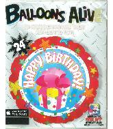 "24"" Happy Birthday Balloons"