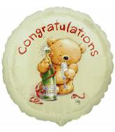 "18"" Roly Bear Congratulations"