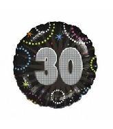 "18"" Prismatic 30 Foil Balloon"