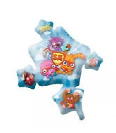 "35"" Moshi Monsters Jumbo Foil Balloon"