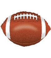 "18"" Leather Like Football Foil Balloon"
