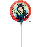 "9"" Airfill Only Mulan Foil Balloon"