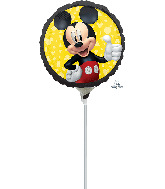 """9"""" Airfill Only Mickey Mouse Forever Foil Balloon"""