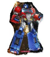 Jumbo Optimus Prime Transformers Foil Balloon