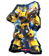 Jumbo Bumblebee Transformers Foil Balloon